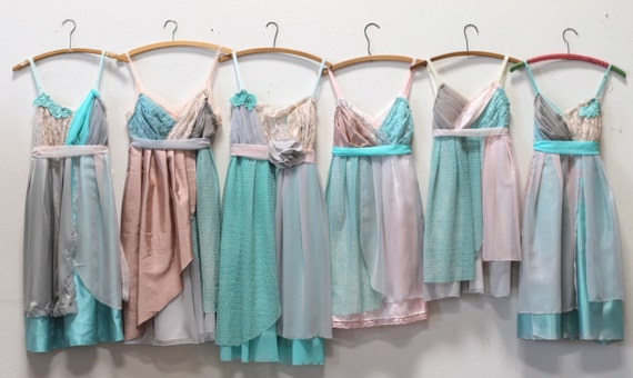 Individual Final Payments for Kelsey Reed's Custom Bridesmaids Dresses