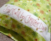 Christmas Pillow Case ---- Pattern
