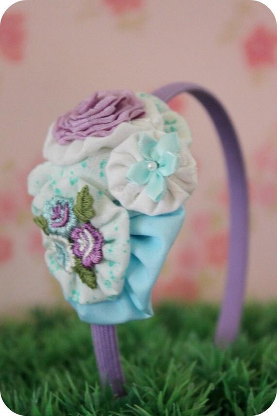 SALE - A Sweet Summer Romance  - YoYo Headband