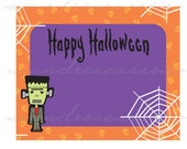 PRINTABLE Tags - Halloween tags or stickers