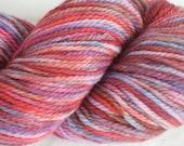 Handdyed Worsted Weight Merino Wool - 100g