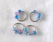 Set of 4 Simple Stitch Markers