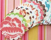 50 Scalloped Cardstock Circles from The Garden Party Stack Collection