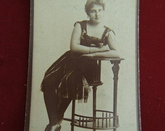 Small Vintage Lady Photograph