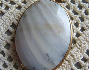 Simply Charmed Agate Pendant