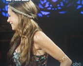 "Armlets worn by Gia Allemand on ABC's ""The Bachelor Pad"""