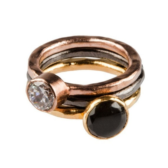 Sweet and Spicy Stackable Rings