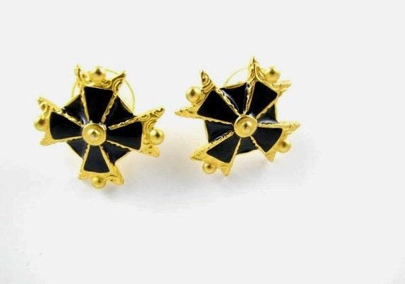 Anne Klein Star Earrings