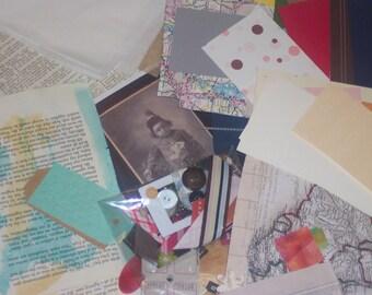 Collage\/Ephemera Packs w/ Envelope