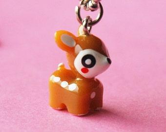 Cute Deer Necklace  (R3C)