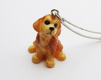 Golden Retriever Dog Necklace  (R3C)