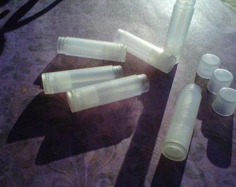 20 Clear Lip Balm Tubes