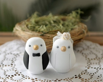 Wedding Cake Topper - Love Birds - Small