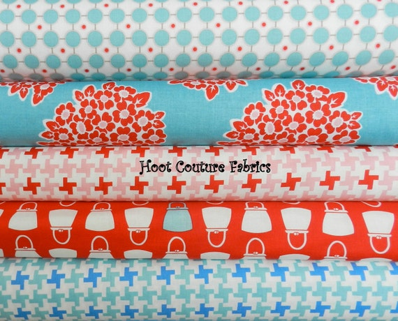 Millie's Closet Collection by Bee in my Bonnet for Riley Blake Fabrics Fat Quarter Bundle