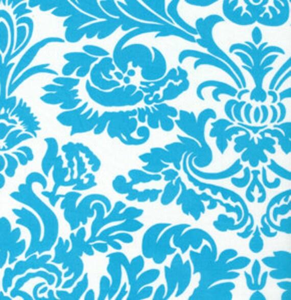 Queen Street JP39 Ellen Aqua by Jennifer Paganelli for Free Spirit Fabrics on sale