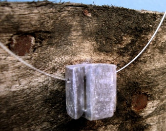 Cube pendant, sterling silver, brillant, matte, sattin, white, wood, Elegant, night, day, mother
