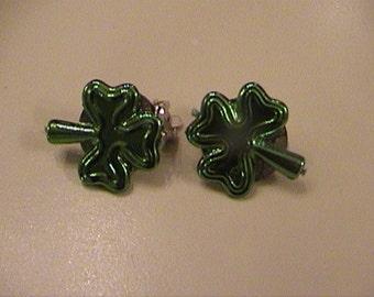 clovers handmade clips