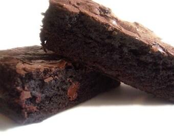 XXX Rated DARK Chocolate Bliss Brownies