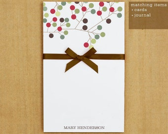 Personalized Stationary - Mod Tree Notepad