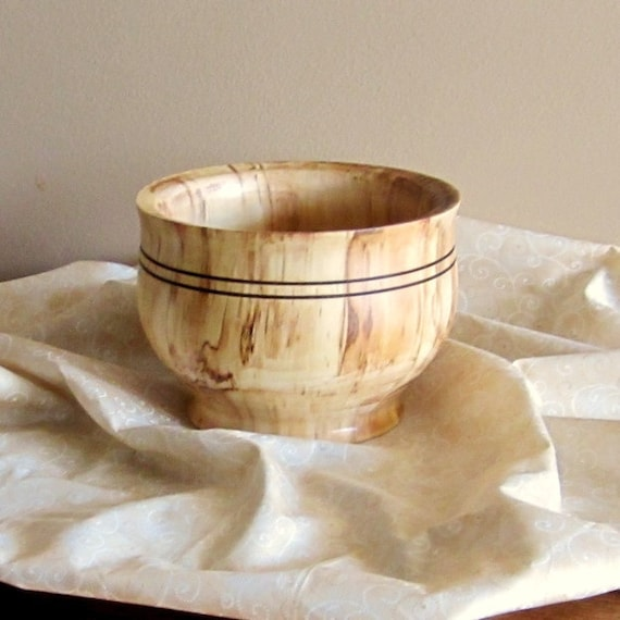 Spalted River Birch bowl price reduced (545)