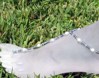 Blue Jeans Blues Barefoot Sandals