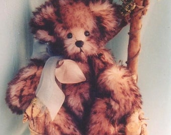 """7"""" Timothy Bear Pattern by Linda Johnson of BEARDEAUX BEARS"""