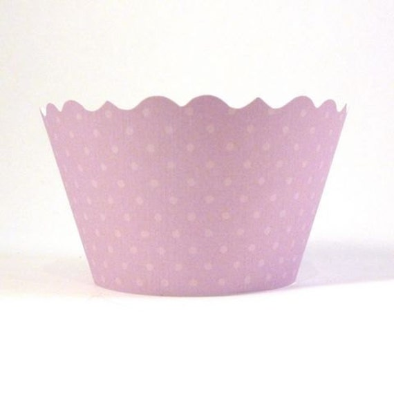 Cupcake Wrapper - Soft Purple