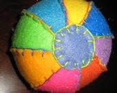 Multi-colored Eco Felt Ball
