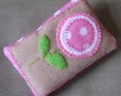 Pink Polka Dot Lollipop Flower