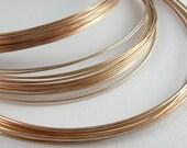 Bronze Wire for Jewelry 14 Gauge Soft 5 Feet