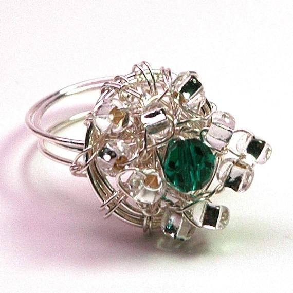Queen Elizabeth's Emerald Nest Ring SALE Reg 25 Dollars