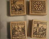 Wonderful Woodcuts Stamp Set