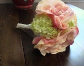 Bridal Bouquet Pink and Green