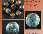 Tutorial: How to Make Japanese Style Flower Murrini and How to Apply it to Your Beads by Ikuyo