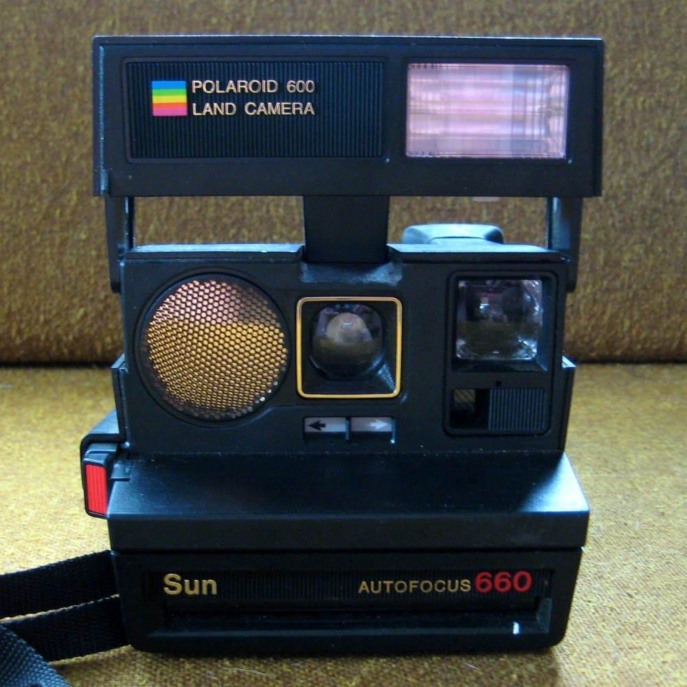 sale polaroid sun autofocus 660 land camera. Black Bedroom Furniture Sets. Home Design Ideas