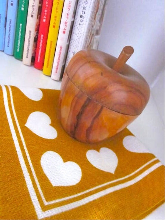 Vintage French Wooden Pomme/Apple