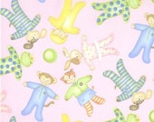 Sleepytime Bedtime fabric | Sweetie Pie Pink fabric | Lori Gardner