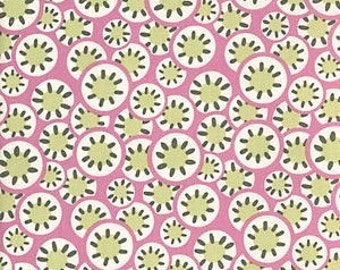 Cotton Quilting Fabric | Amy Butler fabric |  Daisy Chain Rose Kaleidoscope dots