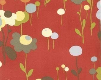 Wonderland Tweedle Dum Tomato fabric | Cotton Quilt fabric | Momo
