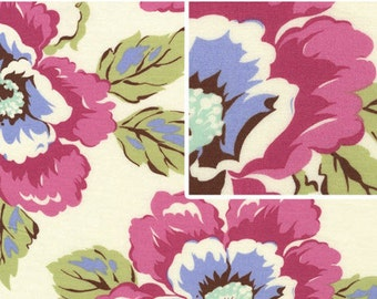 Cotton Quilting Fabric | Amy Butler fabric | Gypsy Caravan Wild Poppy Linen
