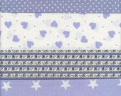 British Cotton Fabric Scrap Pack 9 x 11