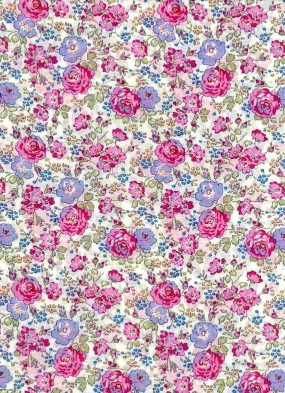 Fabric Sellers Of Liberty Tana Lawn Fabric Felicite 6x27 Uk Seller