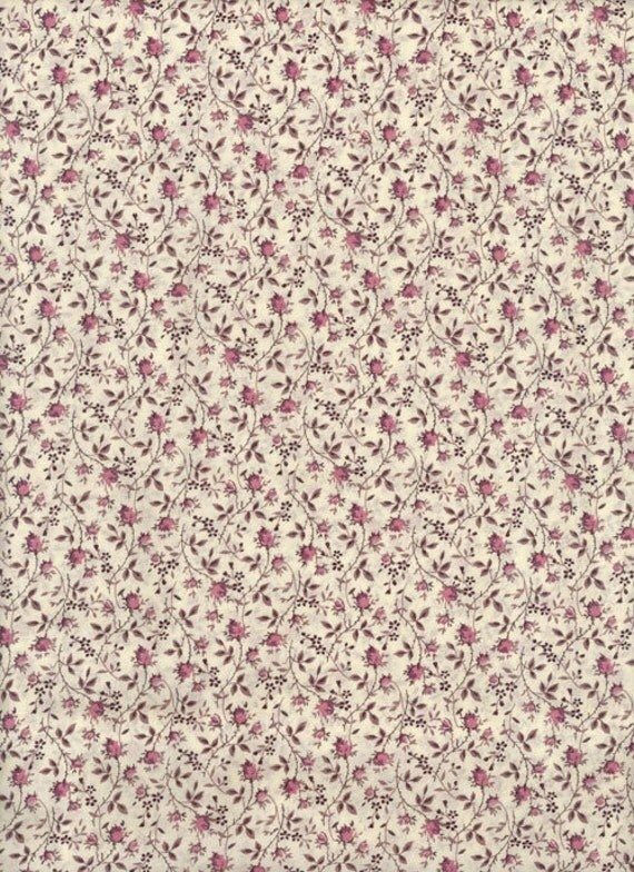 Liberty Tana Lawn  Fabric - 6x27 -Rosy- fabric liberty of london