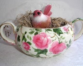 Tea Cup Bird Cage