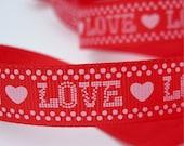 Red LOVE Ribbon