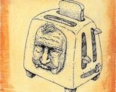 Brave Little Toaster - Print