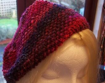 Ladies multi coloured  beret