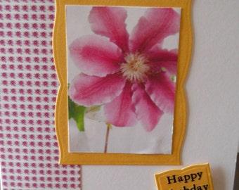lovely hand made Happy Birhday Card