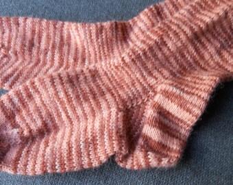 Beautiful alpaca socks