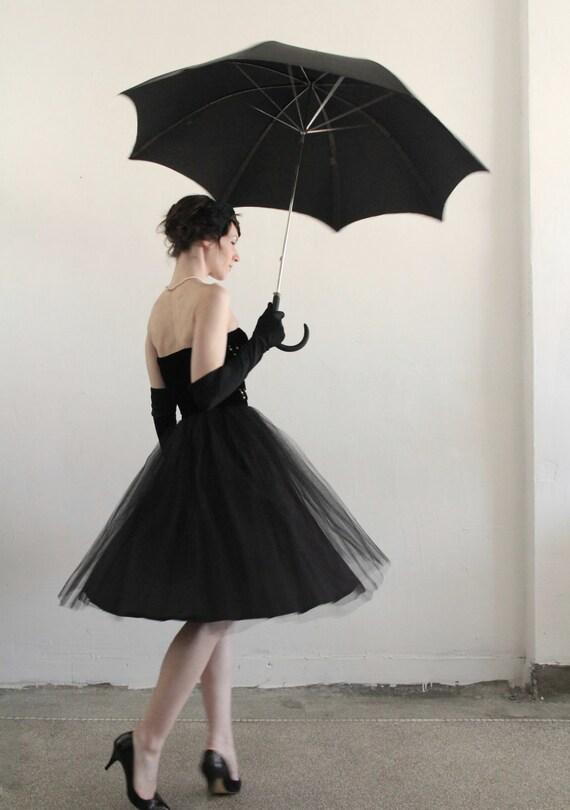 reserved ...... 1950s 3 Pc . Velvet Dress . Tulle Wrap . Bolero Jacket . Cocktail . Ultra Fancy . Mid Century